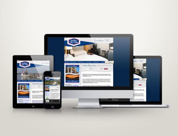 Hampton Inn of Swansboro - Web Design
