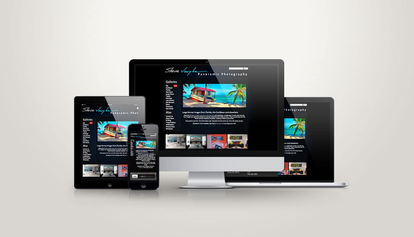 Steve Vaughn - Web Design