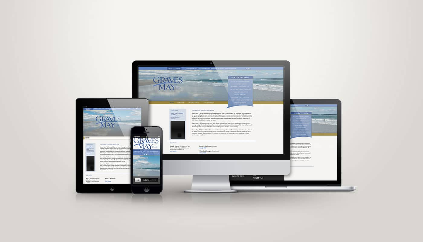 Graves May PLLC - Web Design
