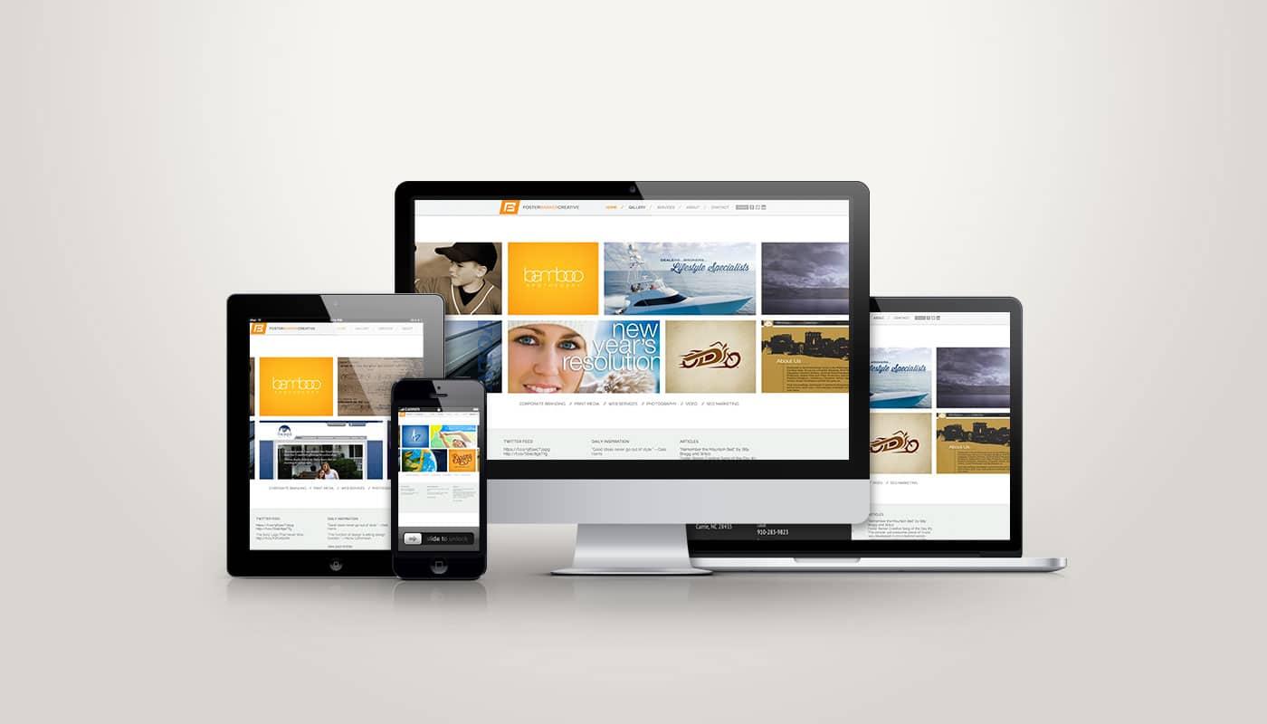 Foster Barker - Web Design