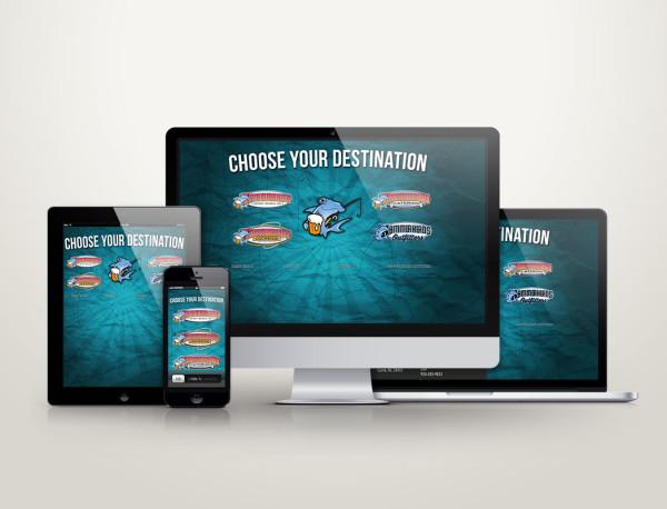 Hammerheads - Web Design