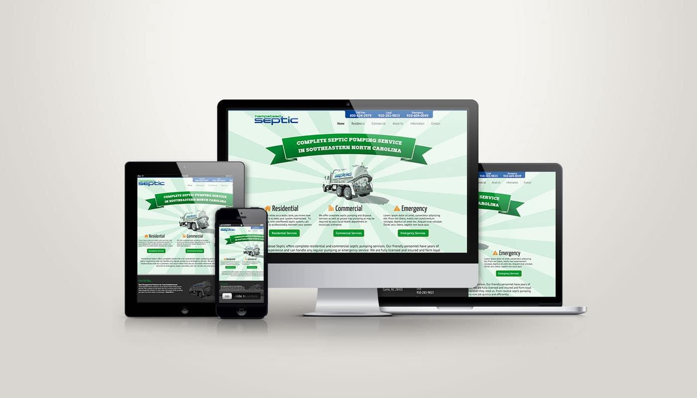 Hampstead Septic - Web Design